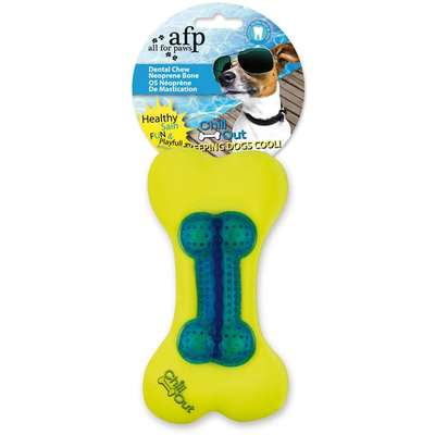 Brinquedo Afp Chill Out Dental Chew Neonprime Bone - Azul