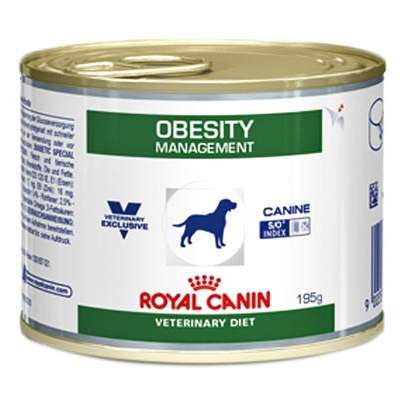 Ração Royal Canin Lata Canine Veterinary Diet Obesity Management - 195gr