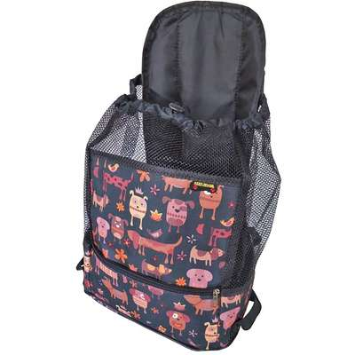 Mochila de Transporte Keep Pet - Preto