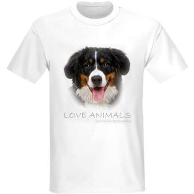 Camiseta Bernese Bag Dog