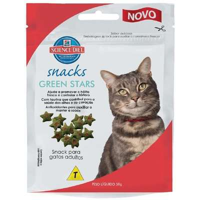 Petisco Hills para Gatos Green Star - 50 g