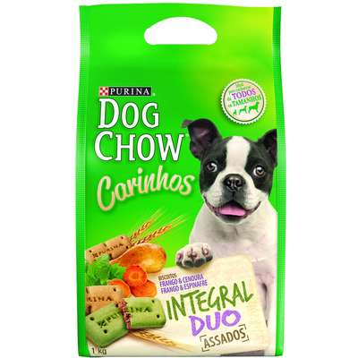 Petisco Nestlé Purina Dog Chow Carinhos Integral Duo - 1kg