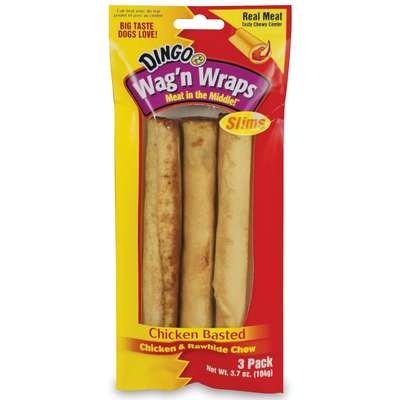 Osso Dingo Wag'N Wrap Chicken Slims - 104gr