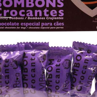 Chocolate Vipdog Bombons Crocante 5 unidades - 30gr