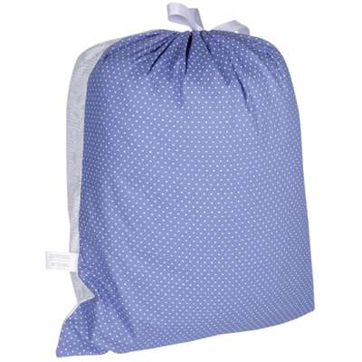 Sleep Bag Futon Dog Renda - Azul
