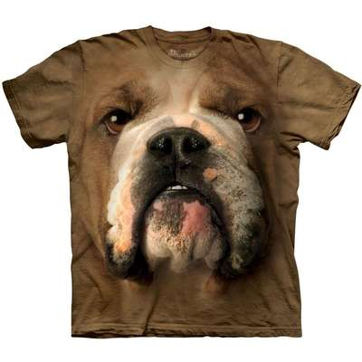 Camiseta The Montain T Shirt - Bulldog - Tam P