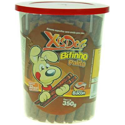 Bifinho Xis Dog Bacon - 350 g