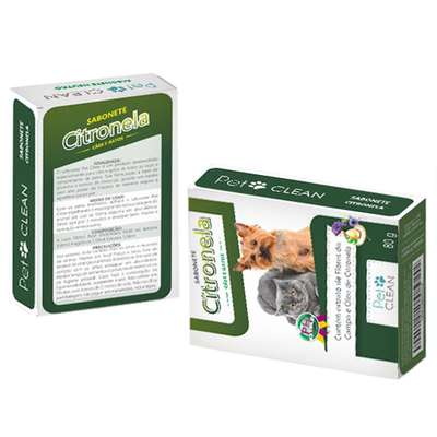 Sabonete Pet Clean Citronela - 80gr