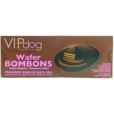 Chocolate Vipdog  Wafer para Cães - 40gr