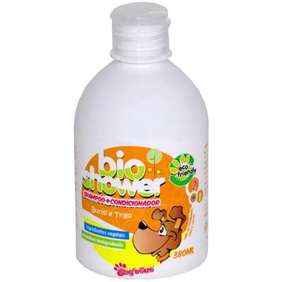 Shampoo Condicionador 2 em 1 Dog's Care Bioshower - 380 mL