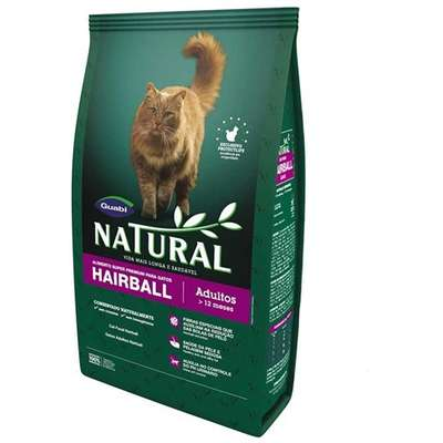 Ração Guabi Natural Gatos Adulto Hairball