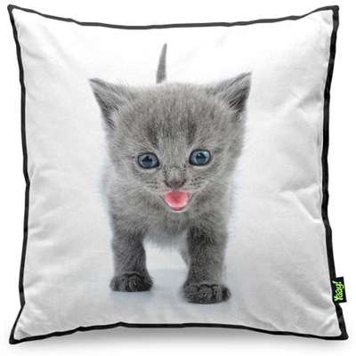 Almofada Yaay Love Cats Black Edition - British Grey