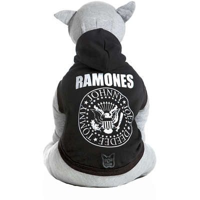 Moletom Dog Club Ramones - Preto