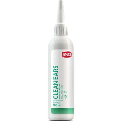 Limpador de Orelhas Ibasa Clean Ears - 100 ml