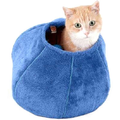 Toca United Pets Cat Cave para Gatos - Azul