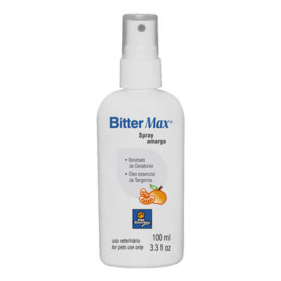 Spray Inibidor Pet Society Bitter Max - 100ml