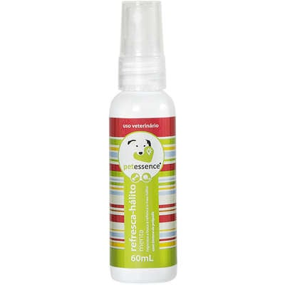 Spray Pet Essence Refresca Hálito Menta para Cães e Gatos
