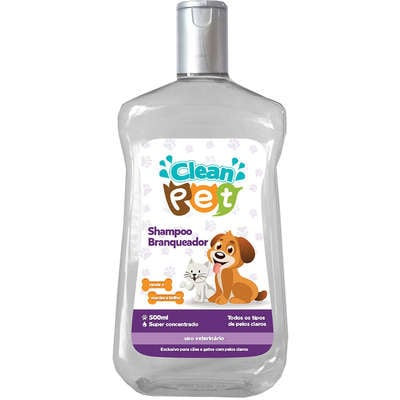 Shampoo Branqueador Clean Pet
