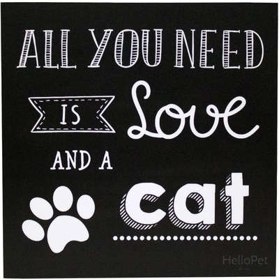 Quadro Hellopet All You Need Cat