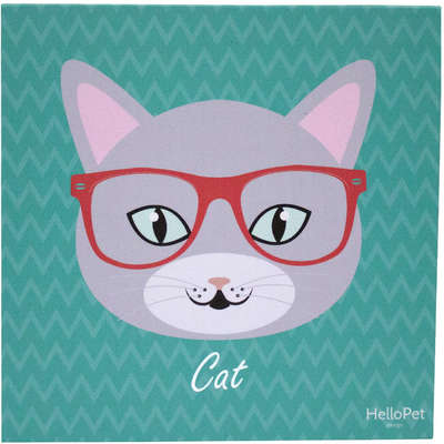 Quadro Hello Pet Minipets Cat