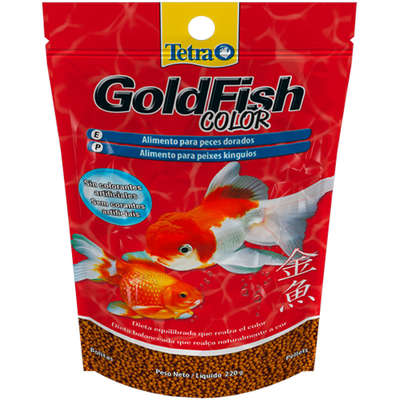 Ração Tetra GoldFish Color Pellets - 220 g