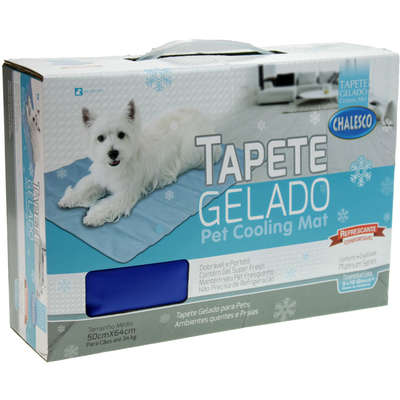 Tapete Gelado Chalesco Pet Cooling Mat