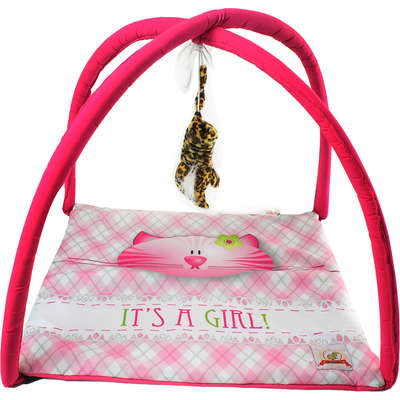 Brinquedo Bag Dog Play Cat Estampa Gato Girl