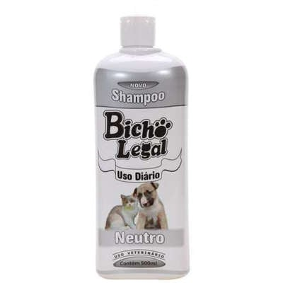 Shampoo Bicho Legal Neutro 500 mL