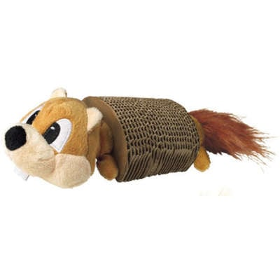 Brinquedo Kong Scratcher Squirrel With Toy para Gatos