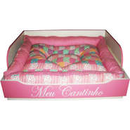 Cama Mobile Pet Poltrona - Rosa