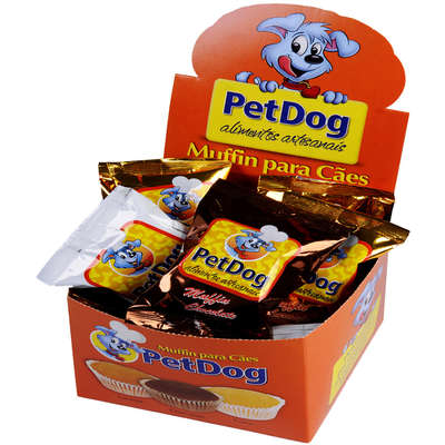Muffin Pet Dog Sabor Coco