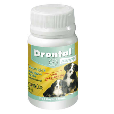 Vermífugo Drontal Puppy - 20 mL